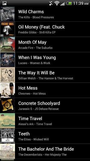 Grooveshark para Android