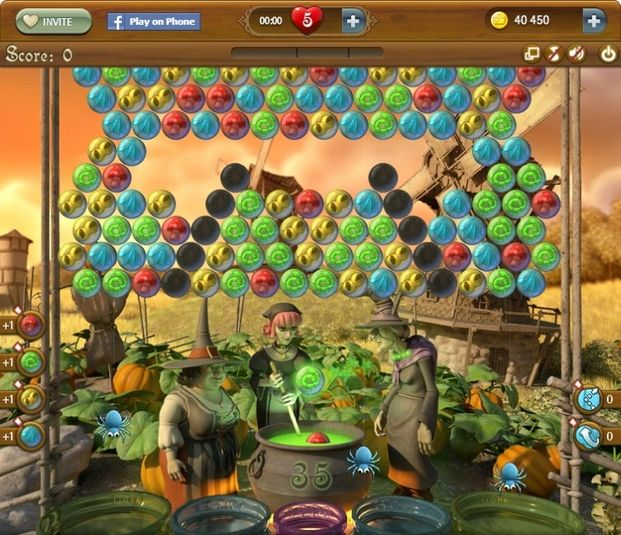 Bubble Witch Saga para Web Apps