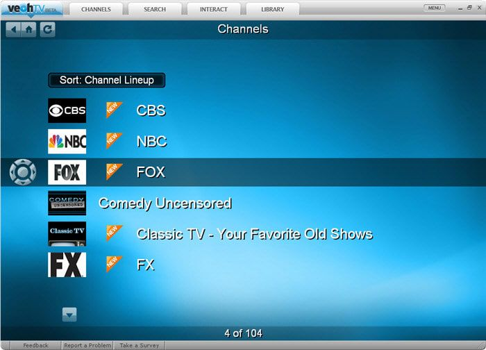VeohTV Player 1.13.1027