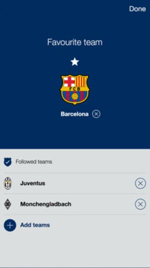 Download grátis UEFA Champions League para Android