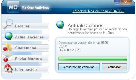 Mx One Antivirus 4.5