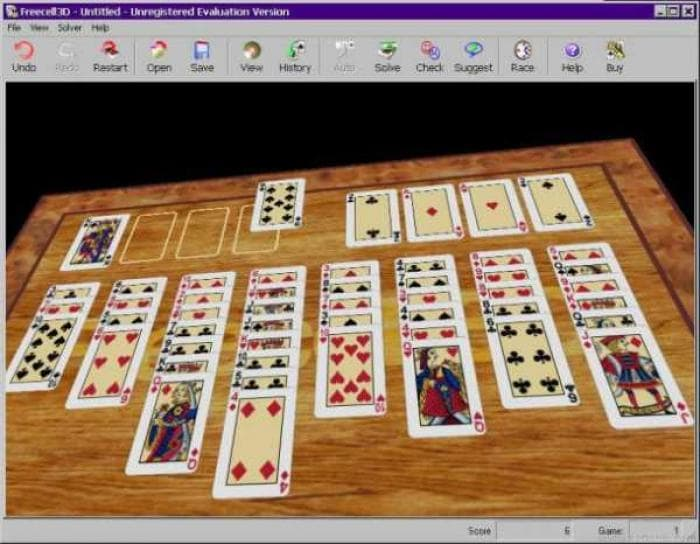 FreeCell 3D 2.0