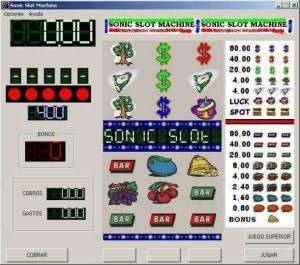 Sonic Slot Machine 1.2