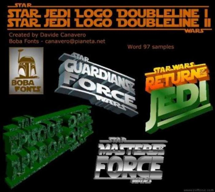 Star Wars Font Collection Beta 7 1.5.1