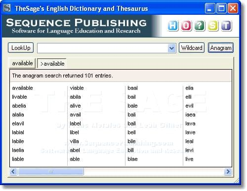 TheSage English Dictionary 3.1.2.1744